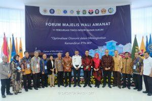 MWA ITB Mengikuti Pertemuan Forum MWA 11 PTNBH di Makasar