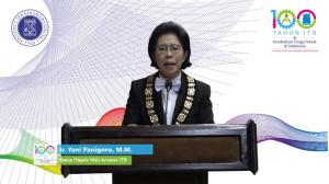 Pidato Ketua MWA ITB Pada Peringatan 100 Tahun Pendidikan Tinggi Teknik di Indonesia 1920-2020
